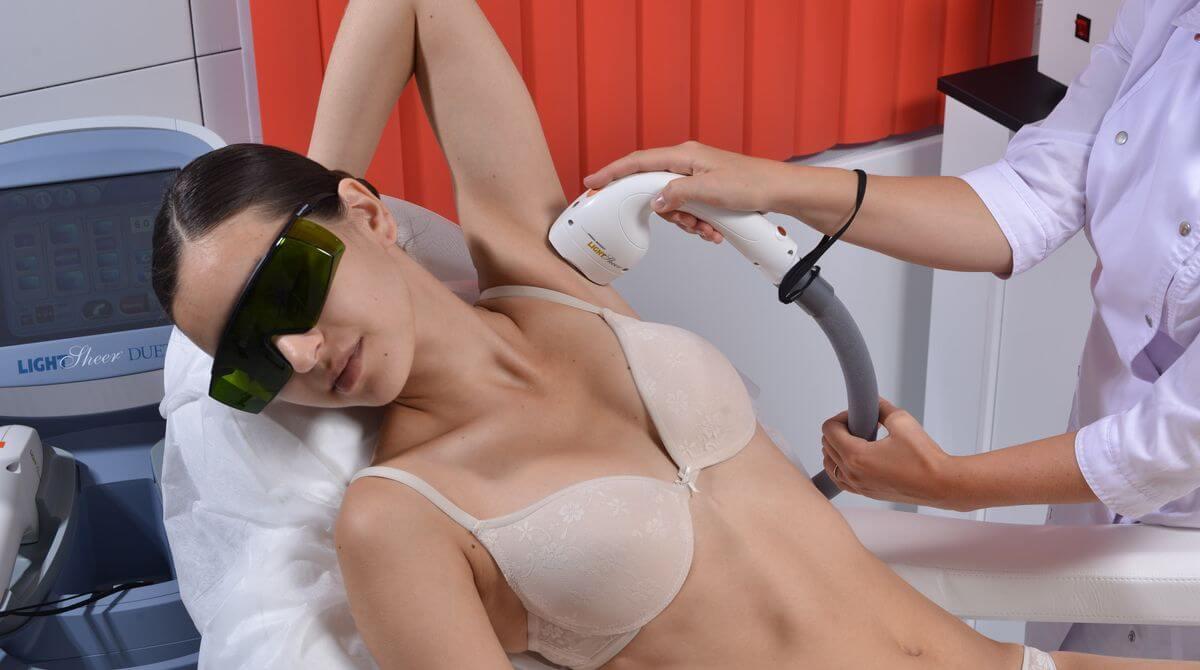 Действует ли лазерная эпиляция на светлые волосы